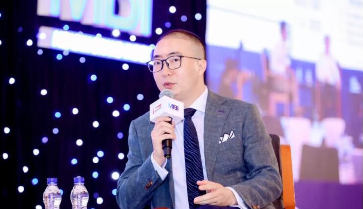 铂涛集团联席首席执行官周奎在论坛上发言