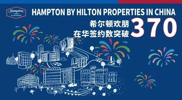 希尔顿欢朋酒店在华加盟数迎来新的里程