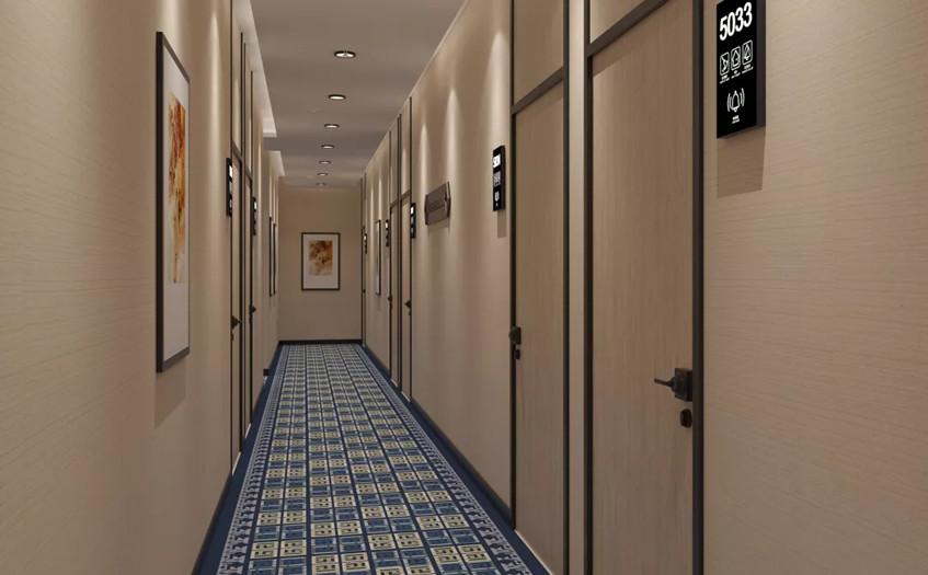 派酒店走廊