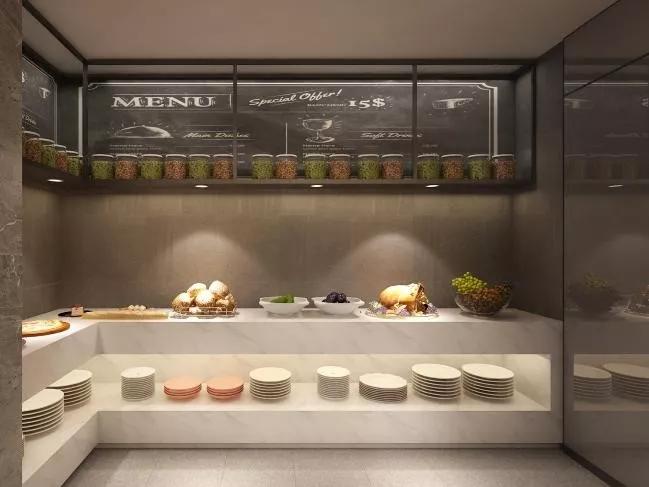 IU酒店2.0轻简版餐区